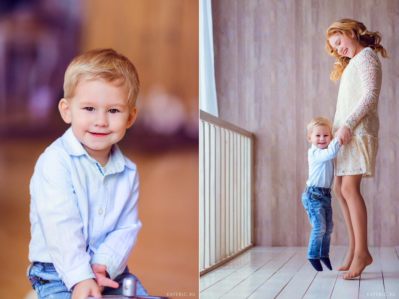 Детская фотосессия в студии дада. Детский и Семейный фотограф Катрин Белоцерковская