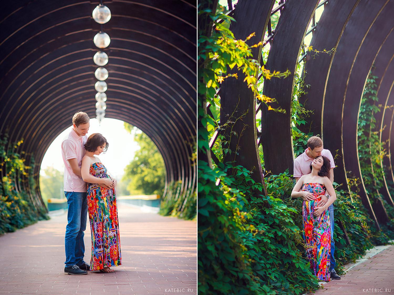 Беременная фотосессия в нескучном саду. Фотограф Катрин Белоцерковская