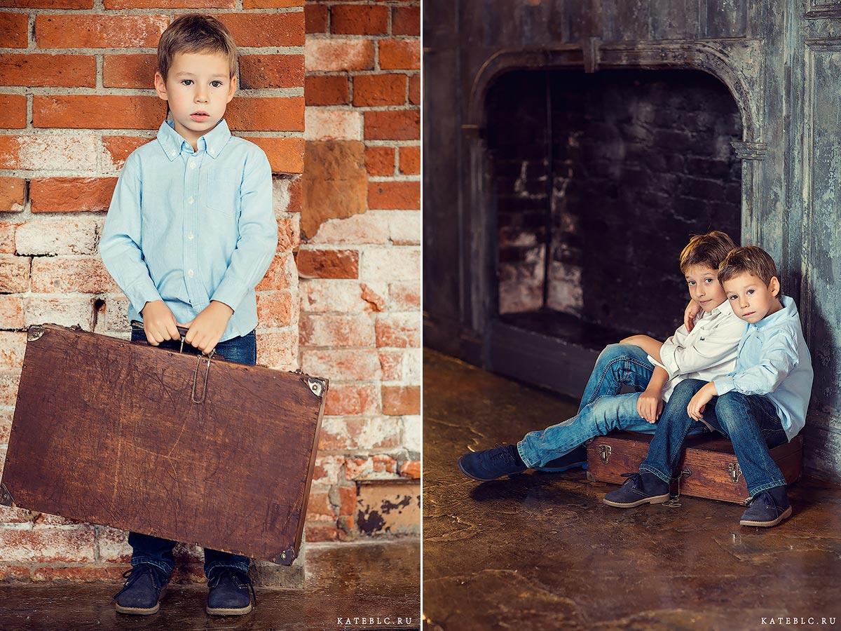 Детские фотографии в студии