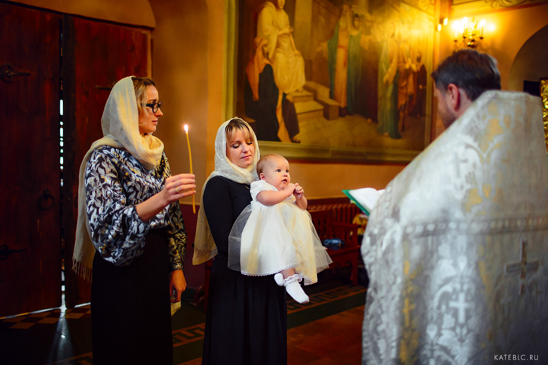 Крестины. Крещение. Детский фотограф в Москве