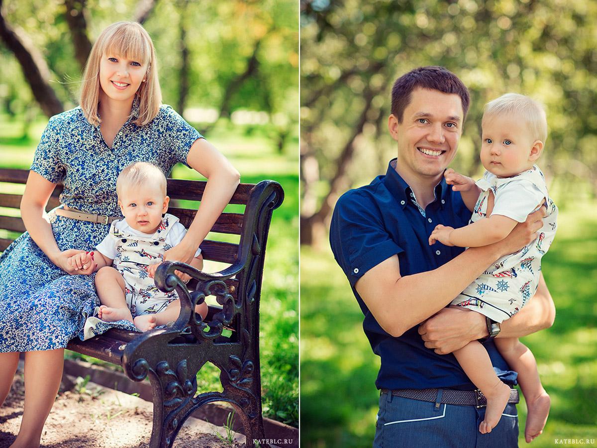 Фотосессия для всей семьи в Москве и московской области