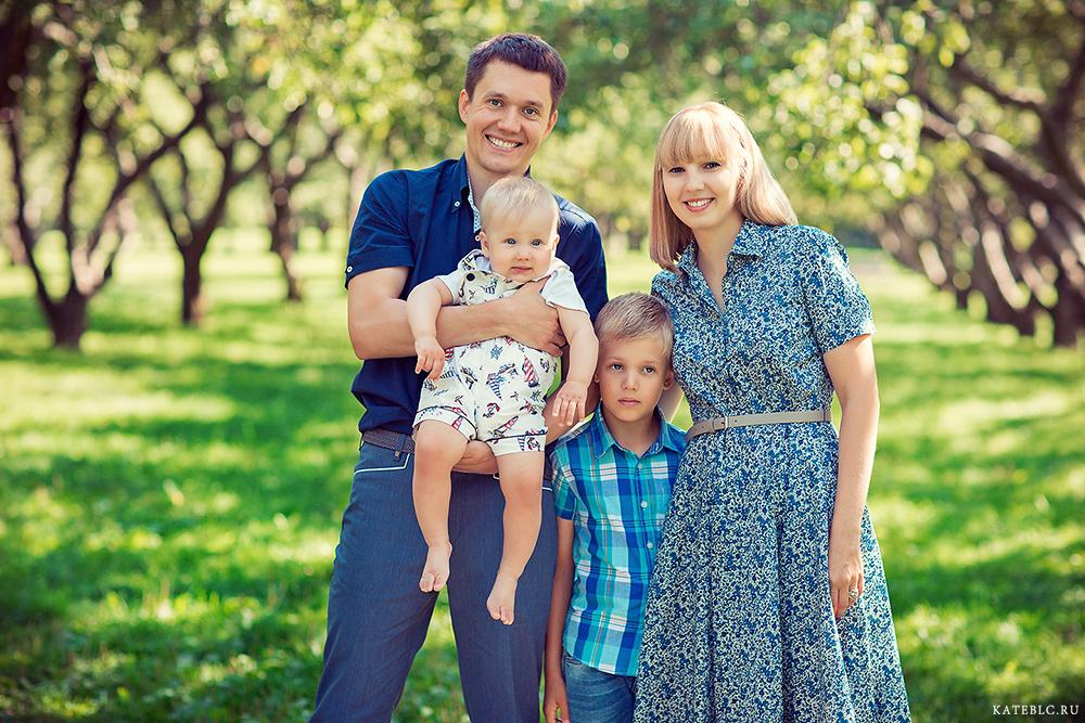 фотосессия для семьи