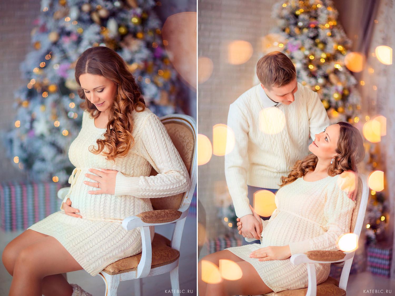 Одежда для фотосессии беременной в фотостудии. Фотограф Катрин Белоцерковская kateblc.ru