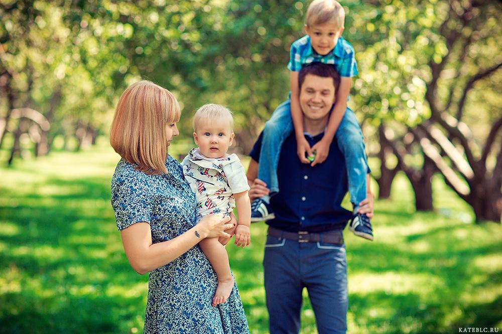 Фотосессия в Москве, семейный фотограф Москва