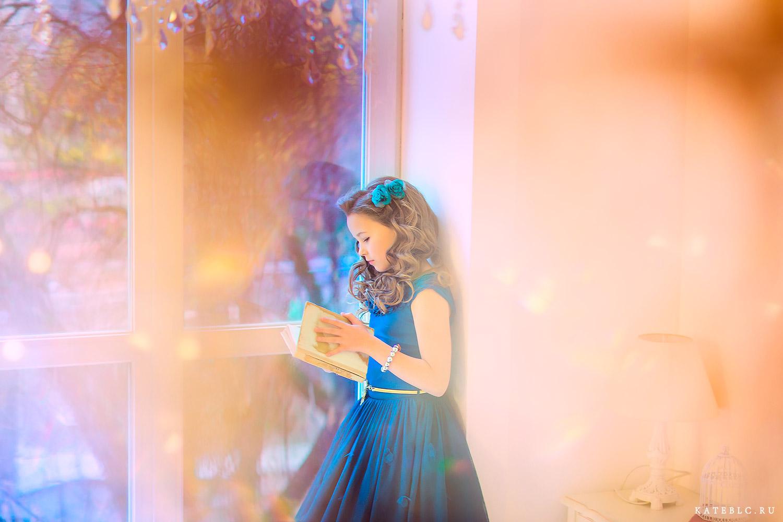 Волшебная фотосессия для девочки в студии