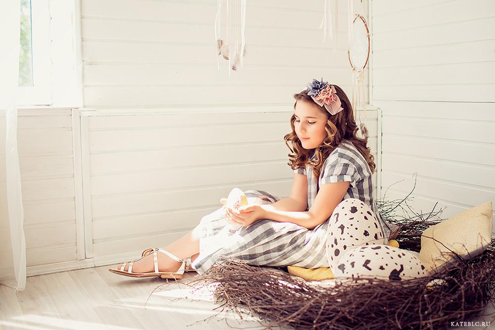 Детская фотосъемка в студии. Фотограф Катрин Белоцерковская. kateblc.ru