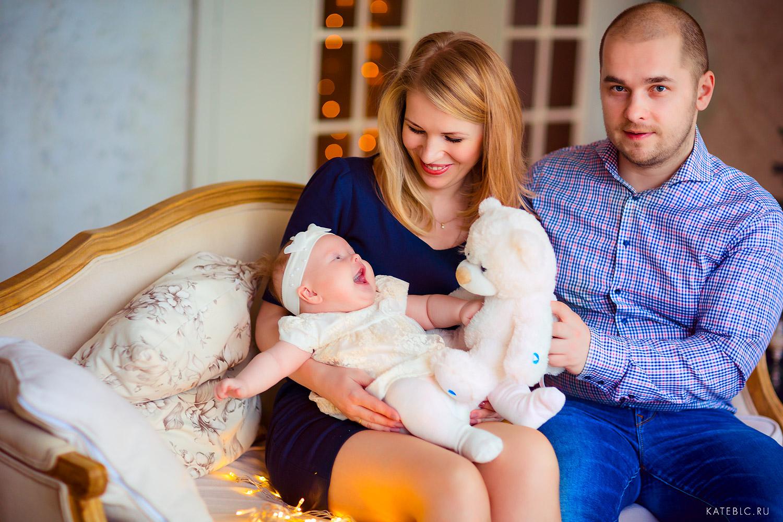 Семейная фотосъемка в студии. Детский и Семейный фотограф Катрин Белоцерковская kateblc.ru