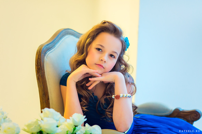 Детский портрет в студии. Фотосъемка от детского фотограф Катрин Белоцерковской