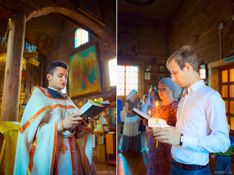 Фотосессия таинства крещения