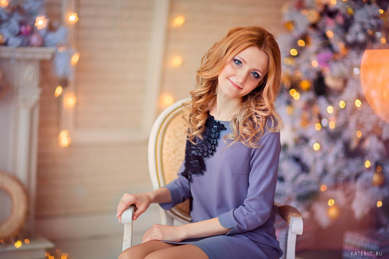 зимний портрет девушки. Заказать фотосессию в москве