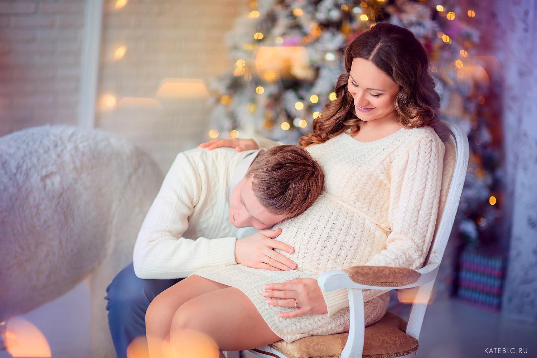 Красивая фотосъемка беременности