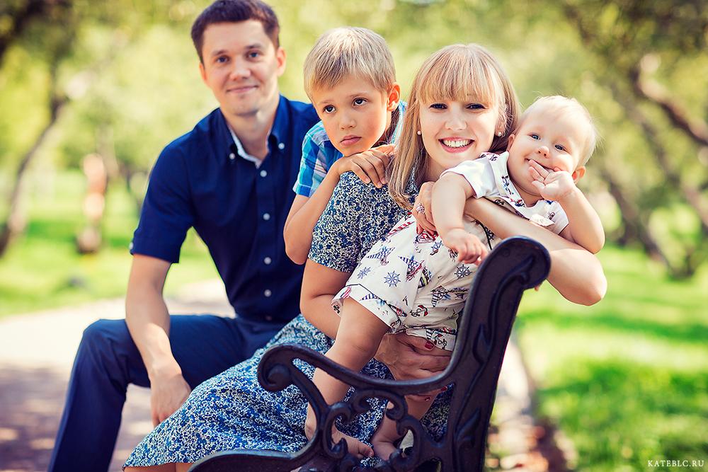 Фотосессия для детей с родителями