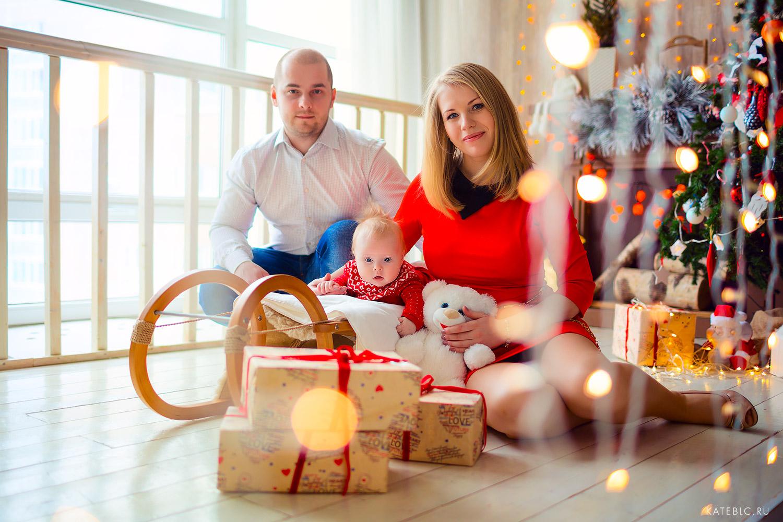 фотосессия на новый год в студии. Детский и Семейный фотограф Катрин Белоцерковская kateblc.ru