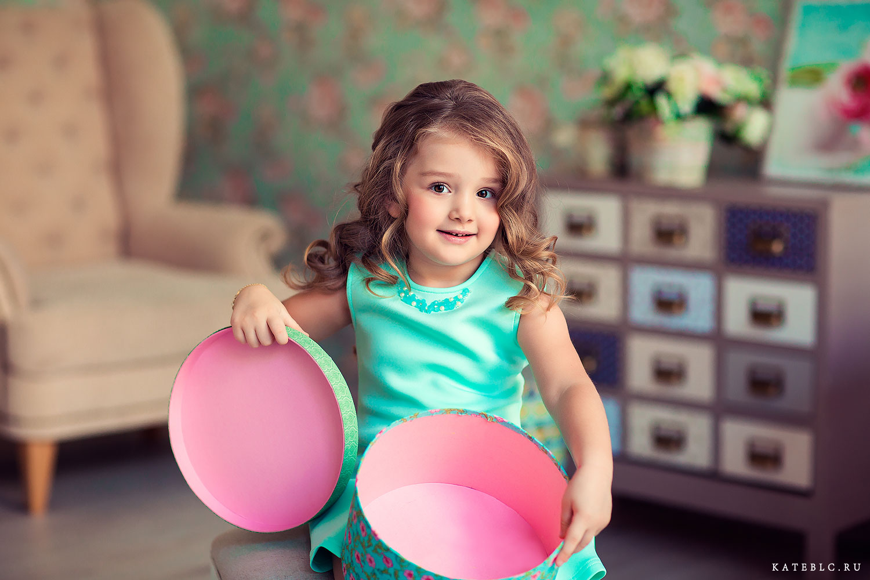 Фотосъемка для дочки в студии