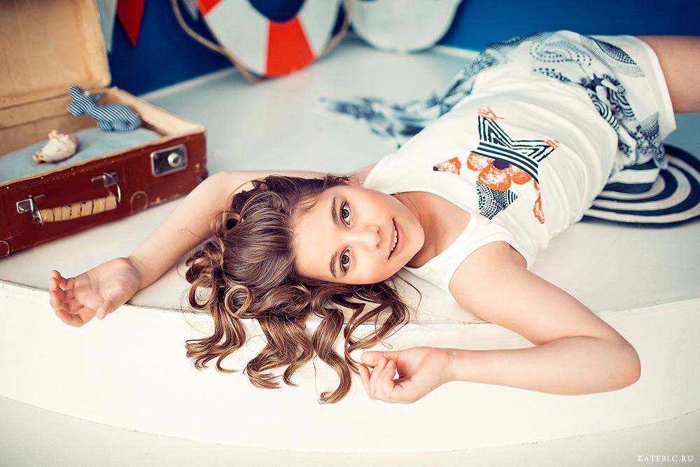 Красивая фотосъемка для девочки в Москве