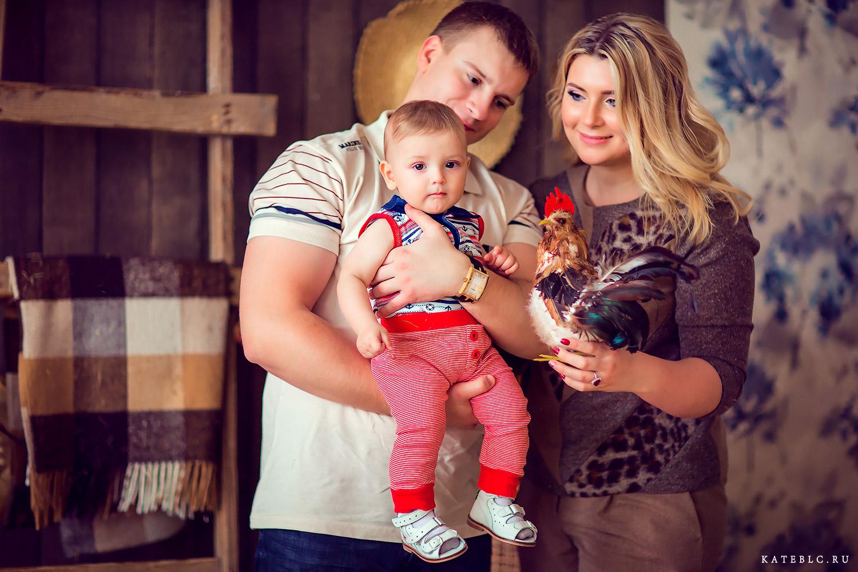 Семейная фотосъека в Москве