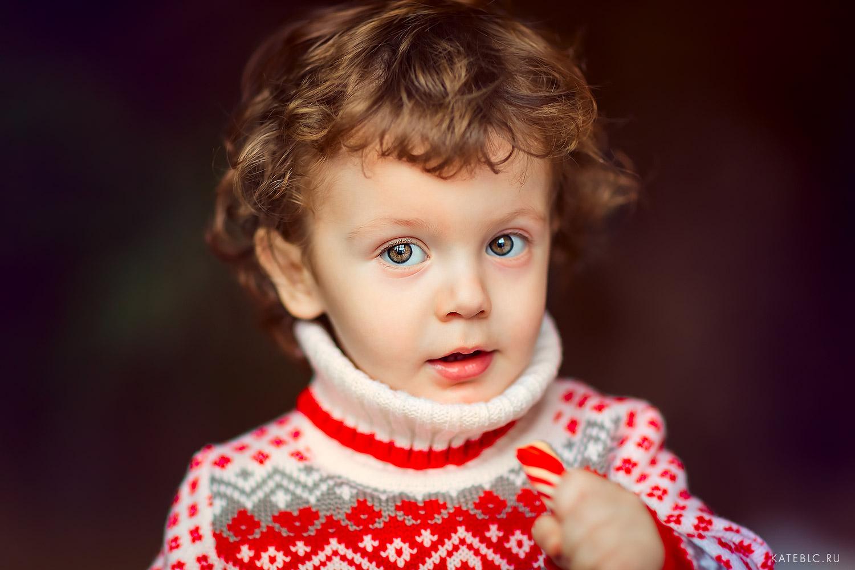 Детский портрет в фотостудии. Детский фотограф в Москве Катрин Белоцерковская
