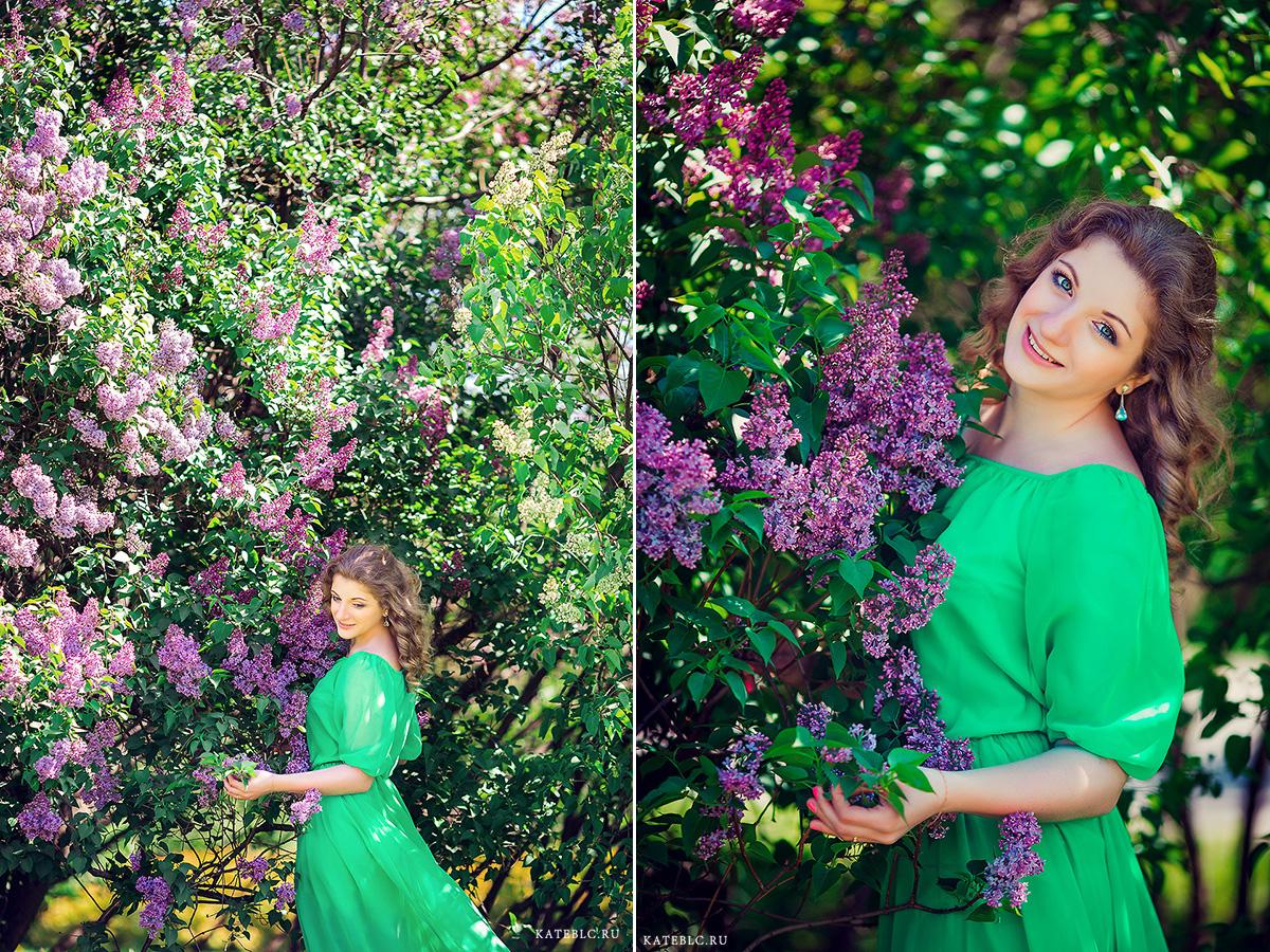 Фотосессия цветения в Москве